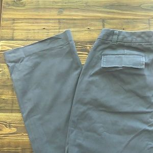 The Limited stretch gray chino pants size 8 long